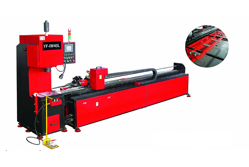 YF-IW40DL Full automatic numerical control pipe punching machine
