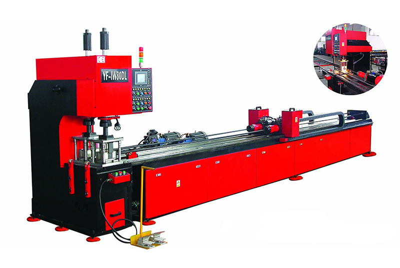 YF-IW80DL Full automatic numerical control pipe punching machine
