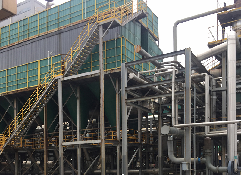 Desulphurization wastewater treatment site of a large group company